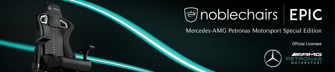 noblechairs EPIC Mercedes-AMG Petronas Motorsport