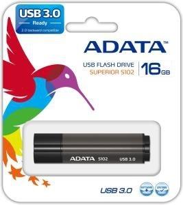 A-Data 16GB S102 Pro, USB 3.0, 100/25 MB/s