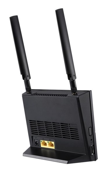 Asus 4G-AC53U, AC750 Dual-Band LTE Wi-Fi -modeemi/reititin, musta - Jimms.fi